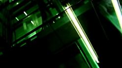 dark-green-elevator