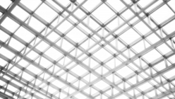 white-grid-structure