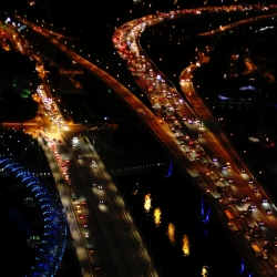 black-singapore-expressways-with-dna-bridge