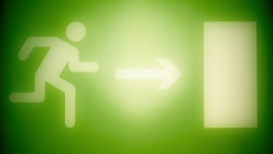 green-emergency-exit