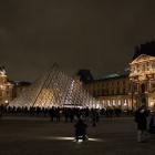 Pyramid by night