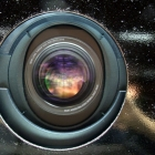 Colourful beamer lense