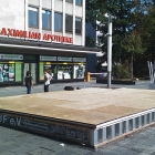 Europabrunnendeckel at Ernst-Reuter-Platz