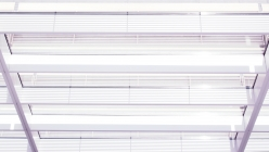 White MACBA window structure