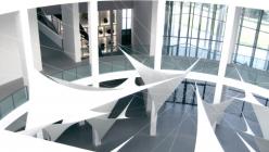 White sails in Pinakothek der Moderne