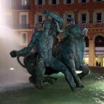 Fountain at place Masséna