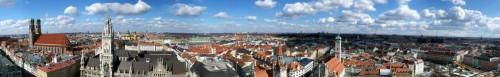 München, Blick vom Peter