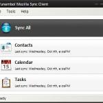 Funambol Mozilla Sync Client