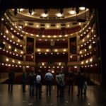 On stage in Burgtheater