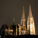 Regensburg cathedral from northeast