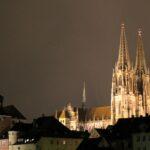 Regensburg cathedral from northwest