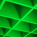green-cube-ceiling