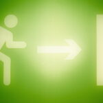 green-emergency-exit