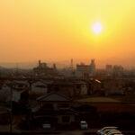 japan-osaka-sunrise