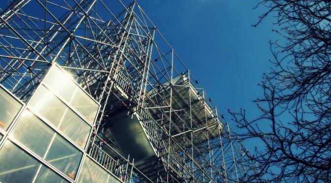 Schaustelle Pinakothek der Moderne
